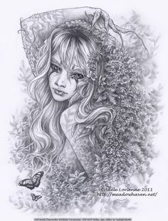 SciFi and Fantasy Art Beautiful Memory by Adele Lorienne