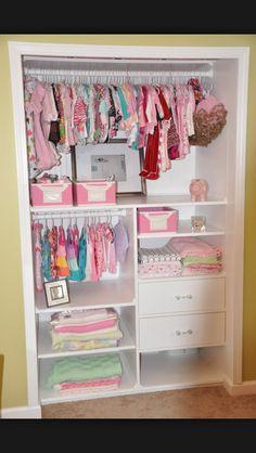 Nursery Closet space