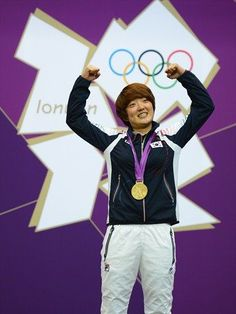 Jangmi Kim - Shooting - London 2012 - Womens 25m Pistol