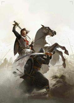 Ideas For Medieval Fantasy Art Chivalry Medieval Knight, Medieval Art, Medieval Fantasy, Military Art, Military History, Military Uniforms, Fantasy Warrior, Fantasy Art, Marshmello Wallpapers