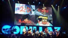 Gorillaz @ The O2 Dublin 11.11.10