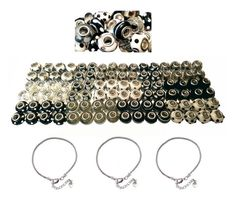 100 Pcs Large Hole Bead Set and 3 Snake by AHaAccessoriesToo