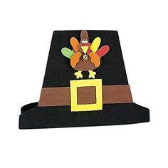 Pilgrim Hat Craft Kit - Crafts for Kids & Hats & Masks
