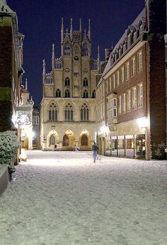 Münster, Germany. Rathaus des Westfälischen Friedens ||| Bilder Foto Agentur…