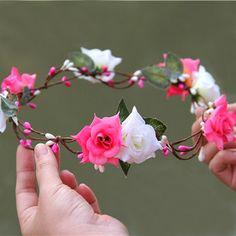 couronne de fleur / accessoires mariage