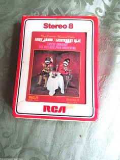 8 Track Tape Eugene Ormandy Kodaly Hary Janos Suite Lieutenant Kije RCA  #Concerto