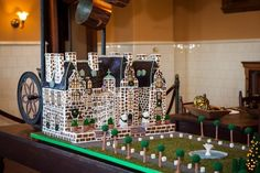 Gingerbread House Recipe from the Biltmore in NC. Biltmore Estate Christmas, Biltmore Estate Asheville Nc, Christmas Gingerbread House, Gingerbread Man, Holiday Centerpieces, Christmas Decorations, Christmas Cakes, Christmas Recipes, Winter Holidays