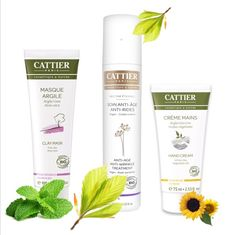 Good news! Our latest shipment of CATTIER organic products has arrived! All organic, Anti-aging cream, Pink Clay Face mask, and White Clay Hand Cream! Come have a look, that's directly from France and only on greenbee ;)  http://www.greenbee.sg/collections/cattier