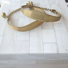 ID Bracelet- Vintage Gold Brass – Laura James Jewelry