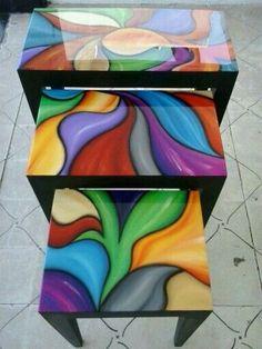 cajas de te pintadas a mano - Pesquisa Google
