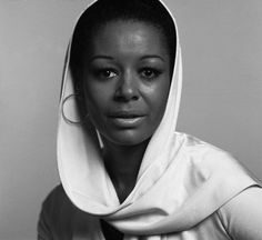 Actress Gail Fisher (photo taken in 1973).  First African-American actress to win an Emmy for Outstanding Performance in a Dramatic Series in 1970