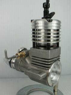 Vintage Spanish ZOM MK III 2 49 Diesel Model Airplane Engine Control Line | eBay