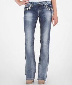 a691bbd2fc Miss Me Large Stone Boot Stretch Jean