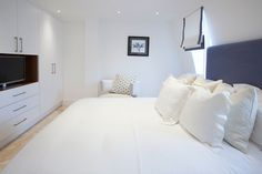 Penthouse Bedroom | JHR Interiors