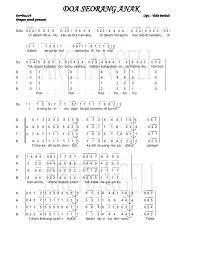 Download Lagu Rohani Doa Seorang Anak : download, rohani, seorang, Partitur, Paduan, Suara,, Rohani,