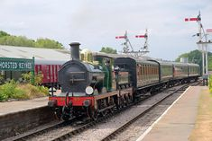 SECR O1-class at Horsted Keynes - Brian Lacey - 21 July 2018