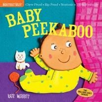 Indestructibles: Baby Peekaboo // great line of baby books that can withstand anything // diaper-bag must-have