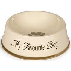 "Design by Lotte ""My Fav Hundeskål Dog Bowls, Dogs, Design, Pet Dogs, Doggies"