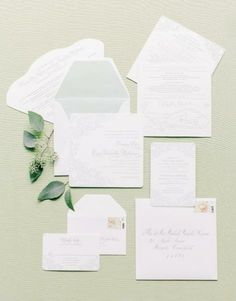 Charleston Weddings spring 2014 / photograph by @Corbin Gurkin / stationery suite by @Lettered Olive