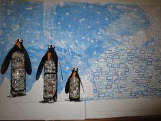 Pingvini iz plastenk, Water Bottle Penguins