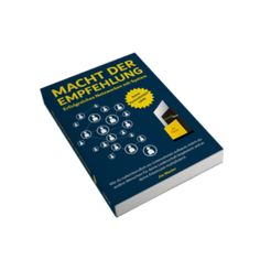 """Das Buch """"Die Macht der Empfehlung"""" wird dir als Marketer helfen noch ergolgreichere Geschäftsbeziehungen zu knüpfen. Das Buch ist kostenlos, du bezahlst nur den Versand. Electronics, Authors, Relationship, First Aid, Books"""
