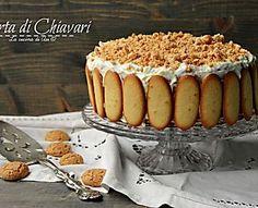 torta di Chiavari ricetta preparazione dolce con zabaione