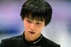 Yuzuru Hanyu (JPN), .FEBRUARY 8, 2013 - Figure Skating : The ISU Four Continents Championships 2013, Men's Singles Practice at Osaka Municpial Central Gymnasium, Osaka, Japan. (Photo by Jun Tsukida/AFLO SPORT) [0003] .