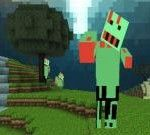 Zombie Miner tells about a thrilling discovery of a guy in the Minecraft world. Of course he will never win without your assistance!