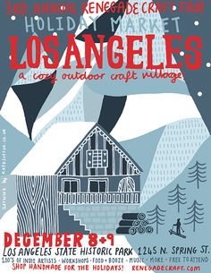 Holiday Shows in LA + SF this December  --- Renegade Craft in LA - 11:11 will be there!!