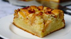 Frisse appelcake met yoghurt en citroen - Lovemyfood.nl