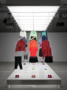 Nike Pop Up Showroom by Maggie Peng & Albert Tien