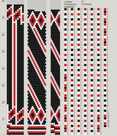 10 around tubular bead crochet rope pattern Loom Bracelet Patterns, Beaded Jewelry Patterns, Beading Patterns, Beading Tutorials, Bead Crochet Patterns, Bead Crochet Rope, Beaded Crochet, Crochet Beaded Bracelets, Crochet Necklace
