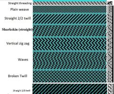 Image result for cross twill weave drawings
