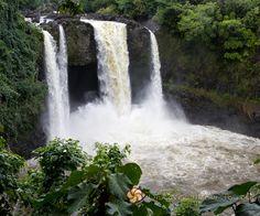 waterfalls in hawaii | Rainbow Waterfall in Hawaii