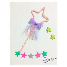 こんばんわ。 △ △ 家にあったリボンでウールレターステッキ☆ △ 「ごめんなさい」の気持ちを込めてのプレゼントに☆ △ △ 喜んでもらえるかな♡ △ △ △ #ウールレター #ステッキ #コットンレター #プレゼント #ごめんなさい #オーダー #ハンドメイド #手作り #キラキラ #pink #cute #colorful #fancy #baby #kids #kidsroom #子供部屋 #お星様 #リボン #女の子 #誕生日 #ガーランド #photo #撮影 #小物 #雑貨 #インテリア #ゆめかわいい #こうさくのじかん #ゆめのなかのいきもの
