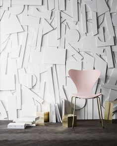 Special edition 7 chair with 24k gold plated legs | Fritz Hansen