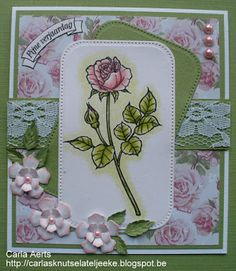 """Beccy's Place - """"With All My Heart"""" clear stamp set"""