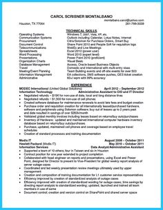 administrative coordinator resume