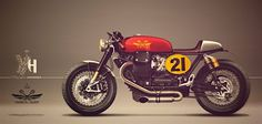 A search revealed that there is no single cafe racer pic thread, and I think we need one. and I need inspiration (for my next BMW project). Vintage Bikes, Vintage Motorcycles, Custom Motorcycles, Custom Bikes, Guzzi Bobber, Guzzi V7, Scrambler, Moto Guzzi California, Modern Cafe Racer