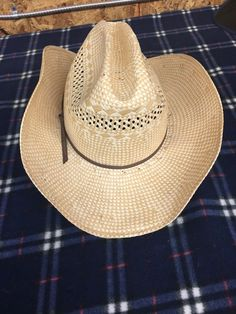 2a18c94130923 VintageStetson Cowboy Hat - Size 7 3 8 - EUC  fashion  clothing