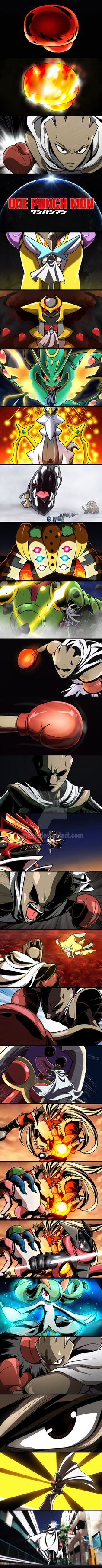 ONE PUNCH MON! by Mgx0 on DeviantArt