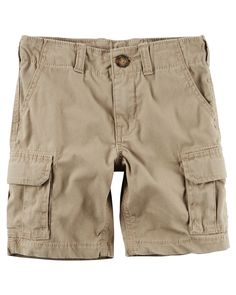 Toddler Boy Pull-On Khaki Cargo Shorts from Carters.com. Shop clothing & accessories from a trusted name in kids, toddlers, and baby clothes.