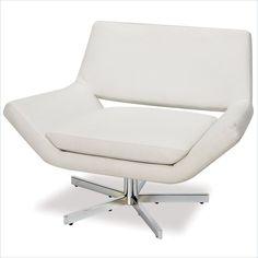 pair of mid century danish swivel chairs