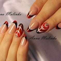 #аннамалинко #nails #nailstagram #anna_malinko #ногтики #ногтидизайн #любимаяработа #гельлак #гель #ногти #красивыеручки