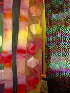 amazing batiks from the american academy of bookbinding!
