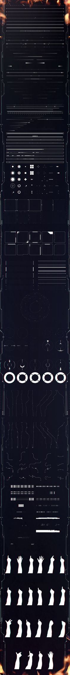 Eclipse HUD Elements on Behance