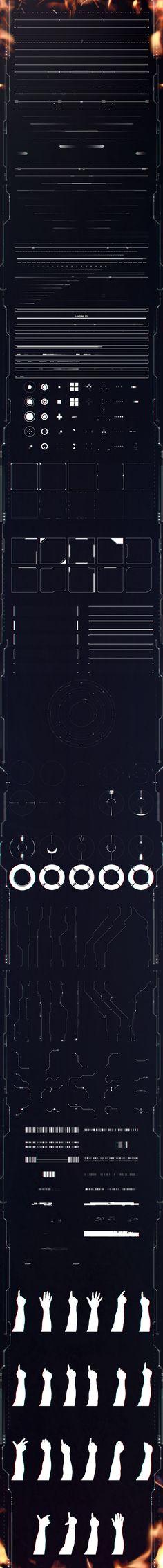 Eclipse HUD Elements on Behance