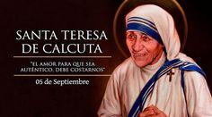 Hoy, 5 de septiembre, celebramos por primera vez la fiesta de Santa Teresa de Calcuta, canonizada ayer por el Papa Francisco en una Misa celebrada en la Plaza de San Pedro, a la cual asistieron unas 120 mil personas.