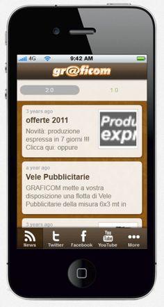 Graficom Creazione App siti internet, e-commerce, app per smartphone, tablet e tutti servizi di marketing e social collegati. Richiedici un preventivo.