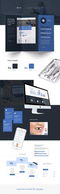 #Medical #medic #hospital #dental #disease #health #recovery #healthy #blue #design #diadea #diadea3007